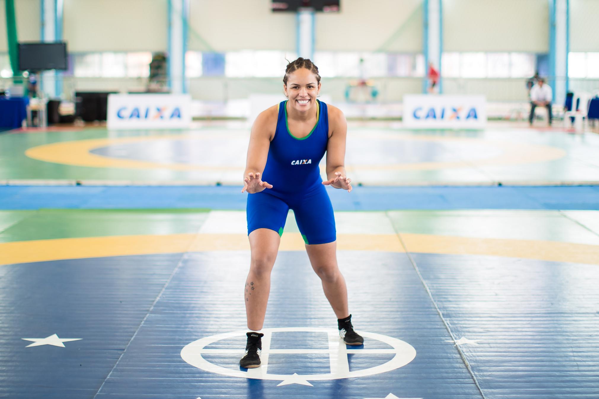feb31564d7 Aline Silva é eleita pelo COB melhor atleta de Luta Olímpica do ano ...
