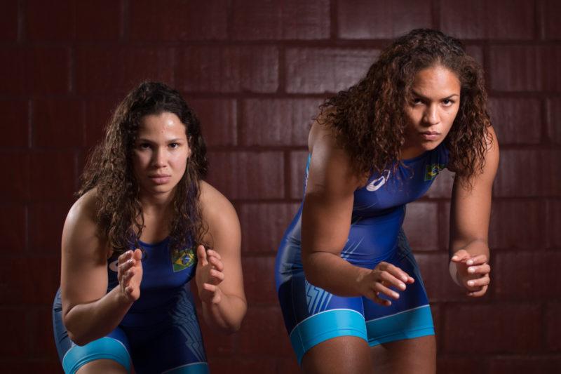 Lais Nunes e Aline Silva colocaram o Brasil no pódio no Torneio Internacional Bill Farrell.
