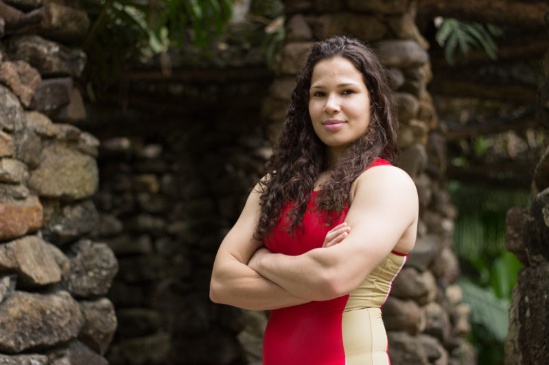 Lais Nunes é uma das atrações do Campeonato Mundial de Wrestling  (Bruna Félix (Arquivo/CBW)