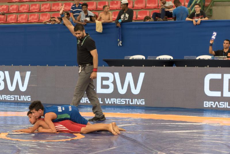 Futuro do wrestling disputa Brasileiro infantil (arquivo/CBW)