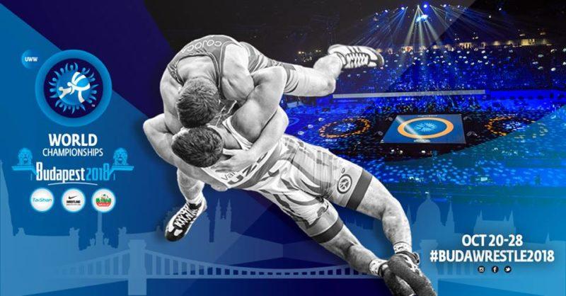 Cartaz promocional do Campeonato Mundial Sênior 2018