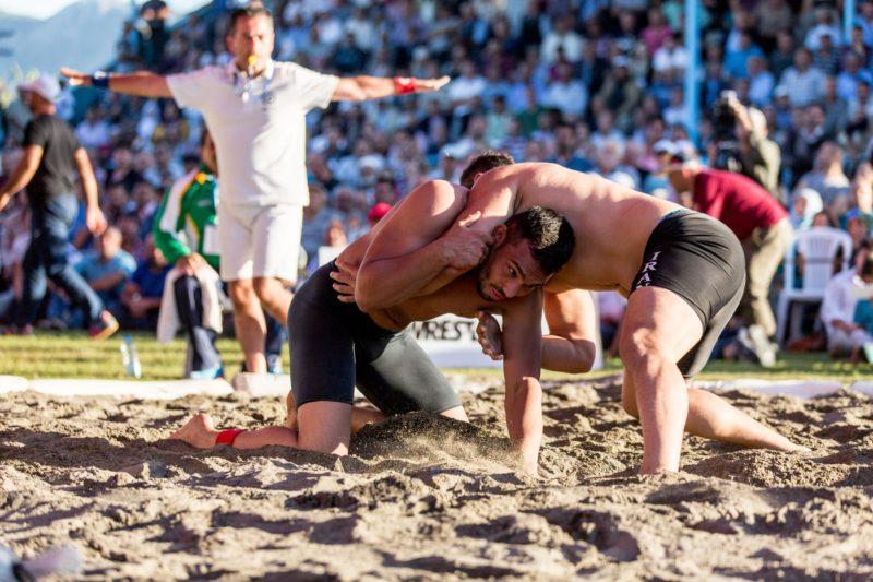 Parque Olímpico do Rio recebe etapa do Mundial de Beach Wrestling 2019 em maio (UWW)