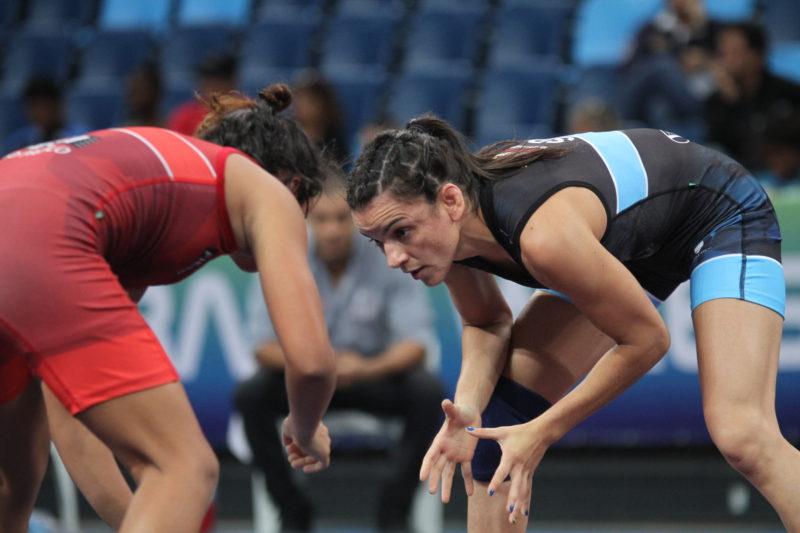 Kamila Barbosa vai lutar em busca da medalha de bronze nesta sexta-feira (Caio Baptista/CBW)