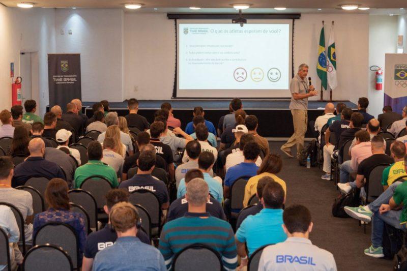 Encontro Nacional de Treinadores se encerrou neste domingo (Guilherme Taboada/COB)