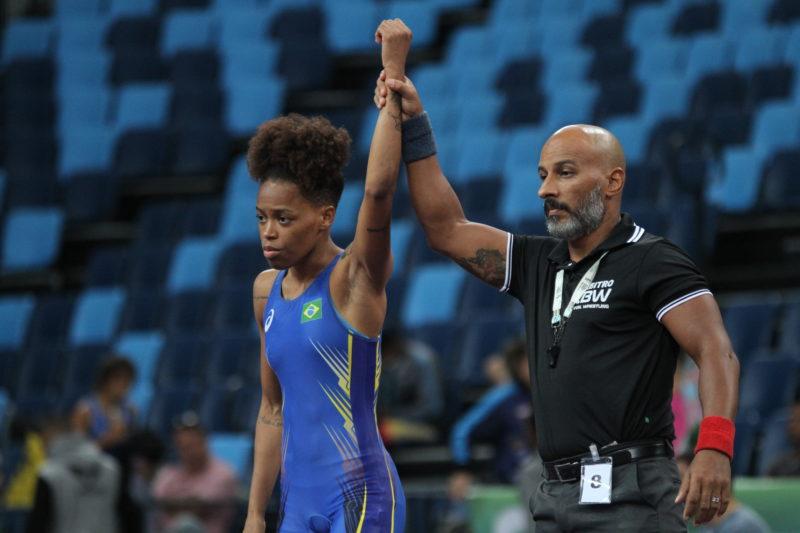 Gracyenne Helena foi uma das vencedoras do Trials 2020 (Arquivo CBW/ Caio Baptista)
