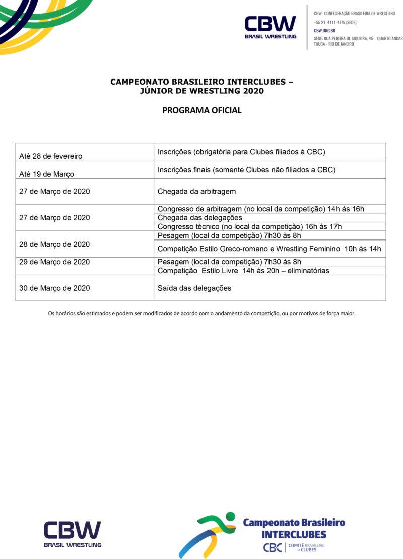 Convite - Brasil de Wrestling Junior 2020 CBI (1)-4