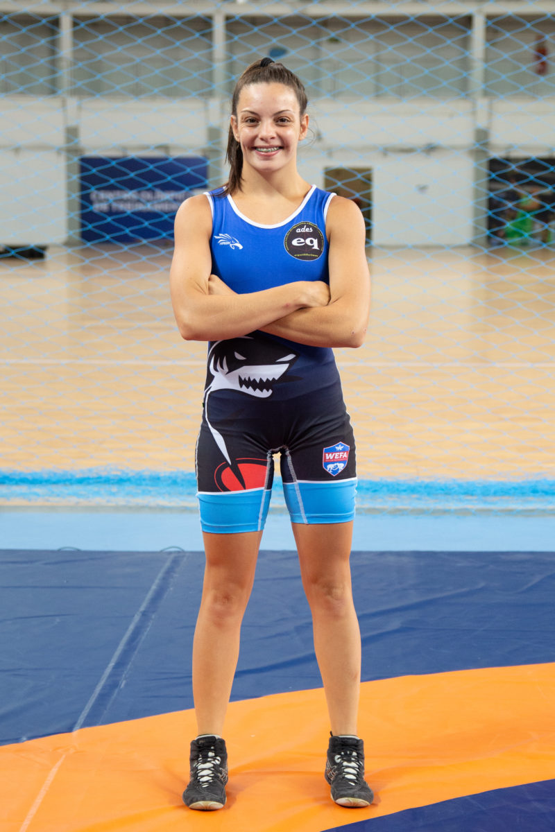 Beatriz concorre ao prêmio de Craque da Galera do Desporto Universitário (Ruiva Fight/CBW)
