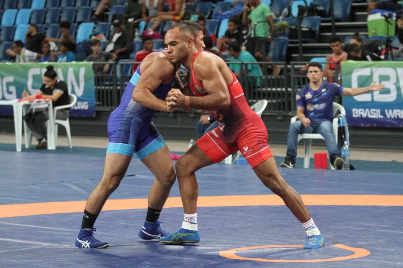 Ronisson Brandão venceu a categoria até 87kg do estilo greco-romano em 2019