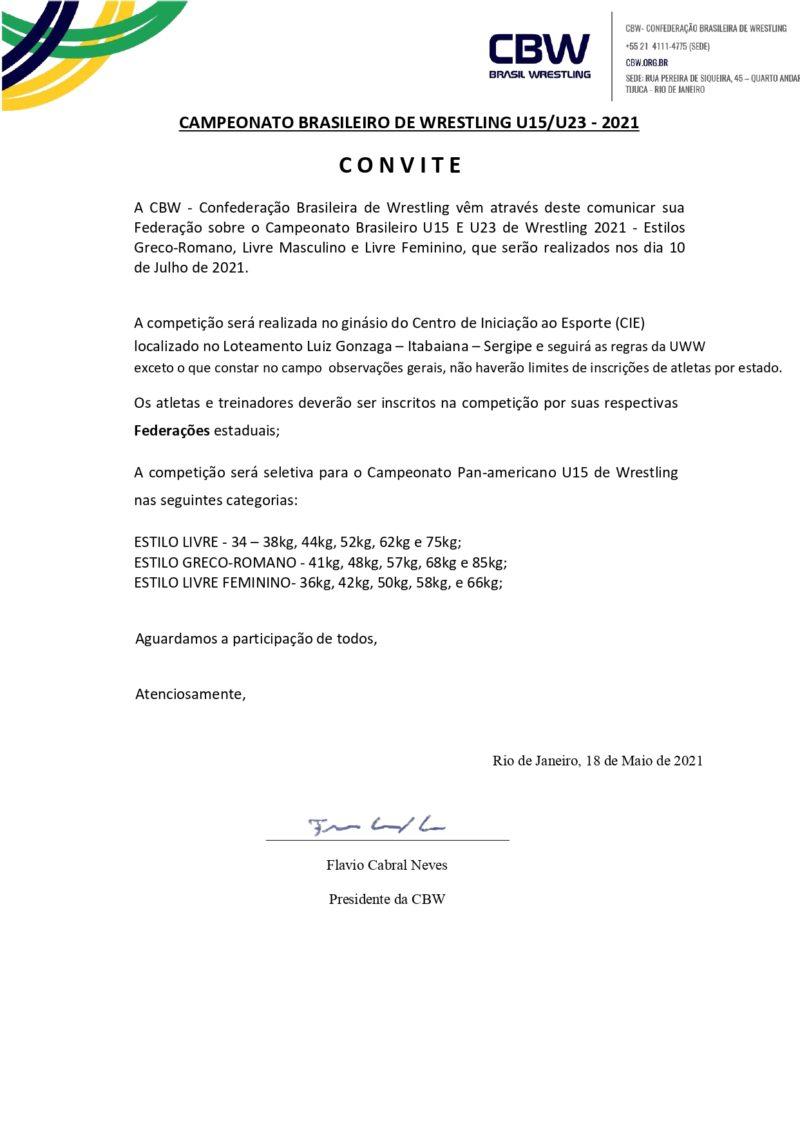 CONVITE e PROGRAMA - CAMPEONATO BRASILEIRO U15-U23 SERGIPE 2021 atualizado_page-0001