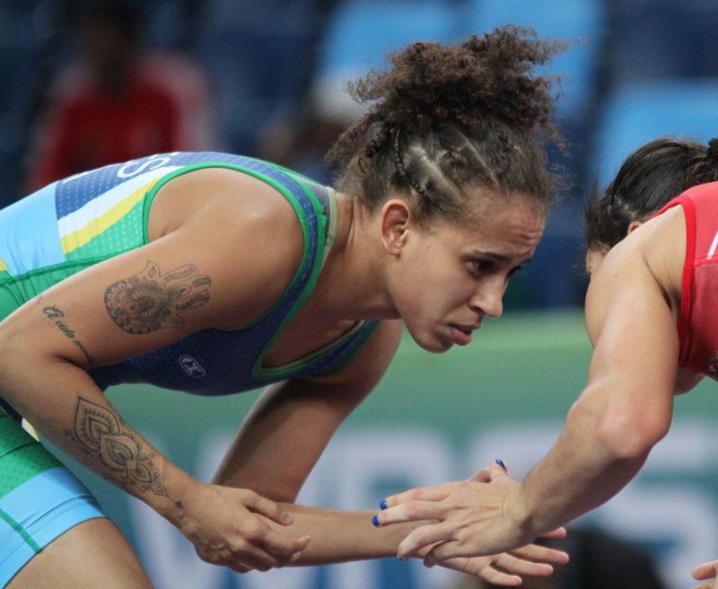 Caroline Soares é a nova presidente da Comissão de Atletas (Caio Baptista/CBW)