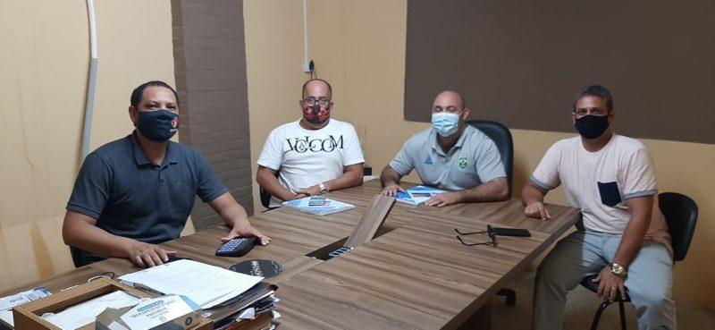 Reunião entre Aeroclube, CBW e FELLOS-RN