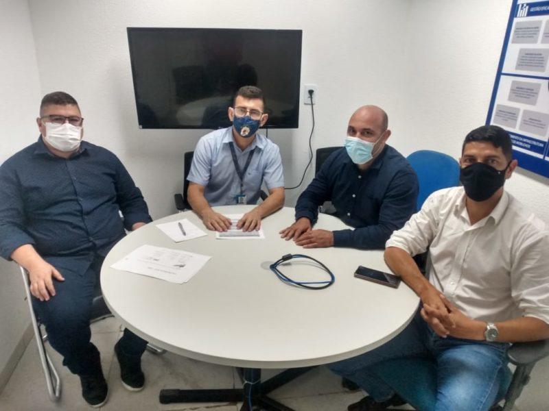 Eder Godim, Eduardo Valença, Flavio Cabral Neves e Leonardo Régis, parceria para desenvolvimento do wrestling.