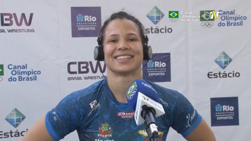 A atleta olímpica, Lais Nunes, da equipe de São José dos Campos é um dos destaques do CBC